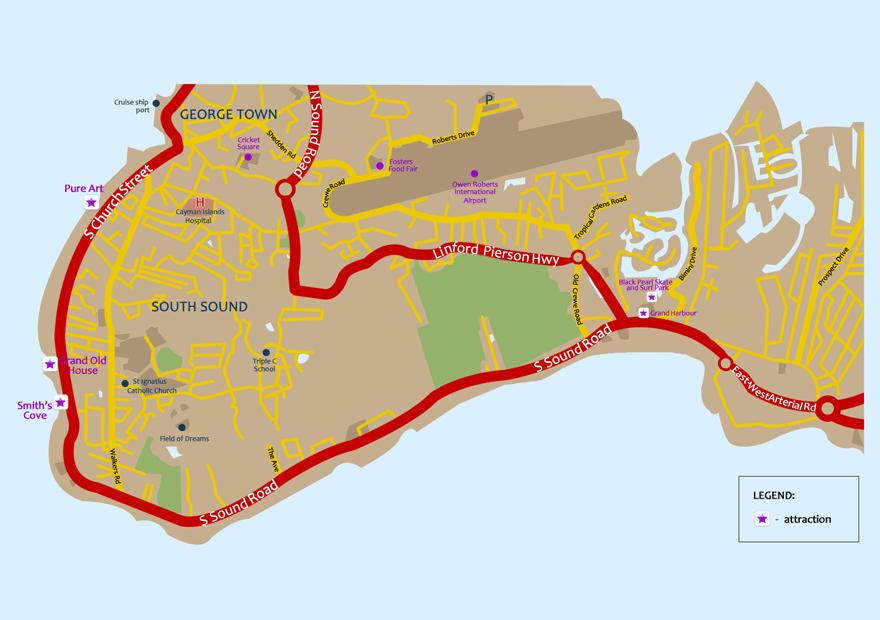 South Sound Map