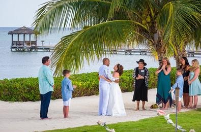 You must be married by a Marriage Officer who has been approved by the Cayman Islands government