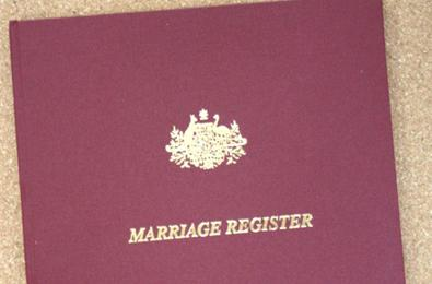 You will receive the Certified Copy of the Marriage Register immediately after your ceremony
