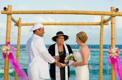 A list of Licenced Marriage Officers can be obtained from the passport and corporate services office on Grand Cayman