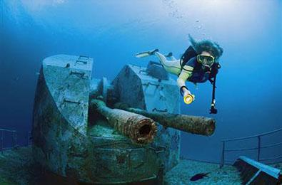 Explore dive sites