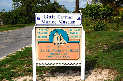 Visit the Little Cayman Museum and the Little Cayman Marine Museum