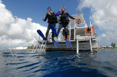 All dive boats carry weights for divers