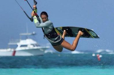 Water skiing and Para-sailing