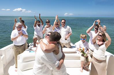 You can get married on a boat